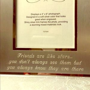 Friends are Like Stars photo frame